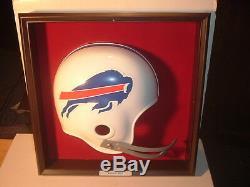 1970's Buffalo Bills Placo Inc. Football White Helmet Plaque