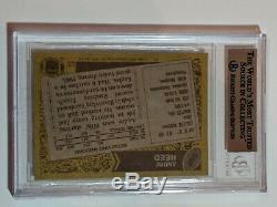 1986 Topps BGS 9.5 Andre Reed Buffalo Bills HOF Rookie RC Football Card Gem HOF