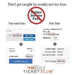 2 Tickets Philadelphia Eagles @ Buffalo Bills 10/27/19 Orchard Park, NY