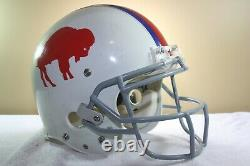 2010 Buffalo Bills RYAN FITZPATRICK Game Used Worn Football Helmet Photo Matched