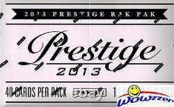 2013 Panini Prestige Football MASSIVE Factory Sealed Jumbo Fat Pack Box-480 Card
