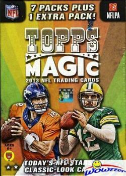 2013 Topps Magic Football Factory Sealed Retail Box! Loaded with ROOKIES
