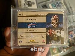 2017 Jim Kelly Panini Gold Standard 1/1 Logo Patch NFL Hof Buffalo Bills
