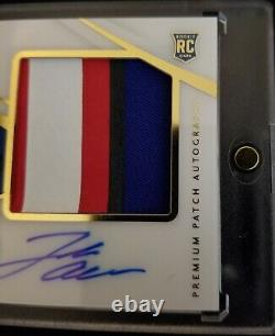 2018 Immaculate Collection Josh Allen Rookie 4 Clr Patch On Card Auto #d 28/99