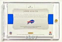 2018 National Treasures JOSH ALLEN #99/99 Colossal Rookie Jersey Patch Auto! HOT