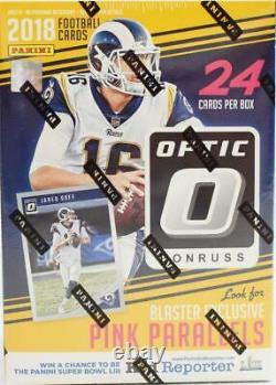 2018 Panini Donruss Optic Football Blaster Box