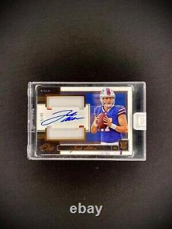 2018 Panini One JOSH ALLEN RPA /49 SP Auto Patch Sealed Rookie RC #51