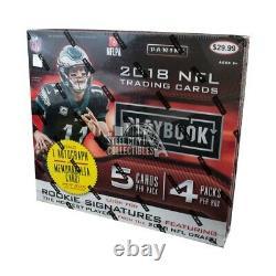 2018 Panini Playbook Football Mega Box