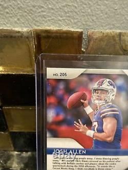 2018 Panini Prizm Green #205 Josh Allen Buffalo Bills RC Rookie