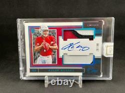 2019 Panini One Kyler Murray #35 Rookie Blue Dual Jersey Patch Auto 39/99