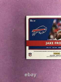 2020 Donruss Jake Fromm RC Rookie Phenoms RPA NIKE Logo Tag Patch Auto True 1/1