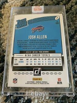 2020 Panini Honors Recollection Collection Josh Allen Auto #3/7 Donruss Rookie