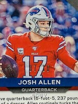 2020 Panini Prizm Josh Allen SSP #1 Gold Prizm Parallel /10 Centered MVP