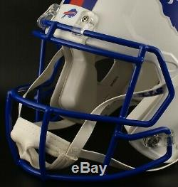 BUFFALO BILLS 1980's TRIBUTE Riddell SPEED Full Size Authentic Football Helmet