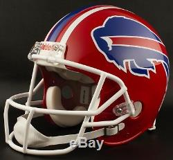 BUFFALO BILLS 1987-1999 NFL Riddell AUTHENTIC Throwback Football Helmet