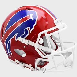 BUFFALO BILLS 1987-2001 THROWBACK Riddell Full Size Replica Football Helmet
