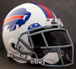 BUFFALO BILLS NFL Authentic GAMEDAY Football Helmet with OAKLEY Eye Shield