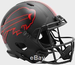 BUFFALO BILLS NFL Riddell SPEED Authentic Football Helmet ECLIPSE