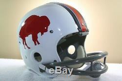 BUFFALO BILLS Style Suspension RK Display Football Helmet Vintage 1960's