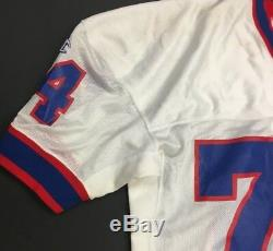 Bruce Mesner 1987 Game Used Buffalo Bills NFL Football Jersey Champions XL