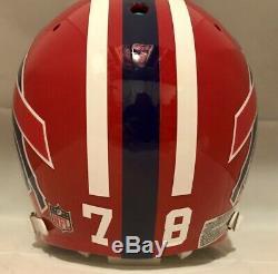 Bruce Smith Buffalo Bills Bike Air Power Authentic Football Helmet