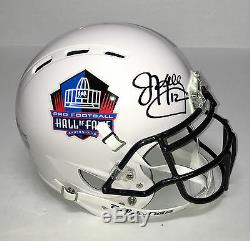 Buffalo Bills #12 JIM KELLY Signed Autographed F/S Football Helmet COA! HOF02