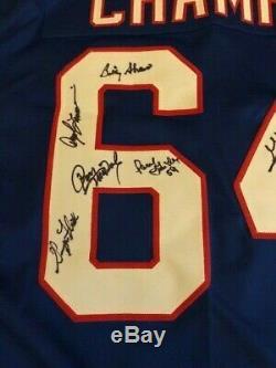 Buffalo Bills 1964 Afl Champions Football Jersey Multi Signed Shaw Ross Bass