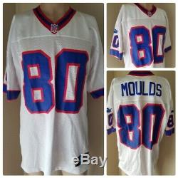 Buffalo Bills Eric Moulds Jersey # 80 Puma Authentic NFL Football Size 50