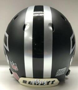 Buffalo Bills Full Size Authentic Schutt XP Football Helmet Custom Black Ice