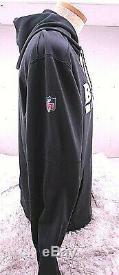 Buffalo Bills NFL Nike Team Issue PLAYER WORN Sideline Hoodie XL