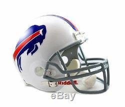 Buffalo Bills NFL Team Logo Riddell Deluxe Full Size Football Helmet