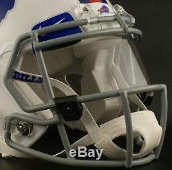 CUSTOM BUFFALO BILLS NFL Riddell Speed AUTHENTIC Football Helmet