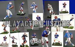 Choice of 1 Buffalo Bills Custom Action Figure made with Mcfarlane NFL