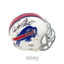 Doug Flutie Autographed Buffalo Bills Speed Mini Football Helmet BAS COA