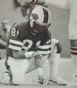 Game-used Buffalo Bills, Bob Chandler, 1974 Riddell Pac 3 Helmet! Photo Match