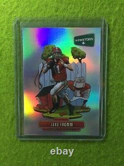 JAKE FROMM DOWNTOWN PRIZM ROOKIE CARD GEORGIA RC BILLS 2020 Panini Chronicles SP