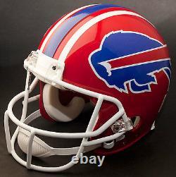 JIM KELLY Edition BUFFALO BILLS Riddell Full Size REPLICA Football Helmet