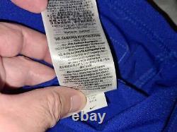 JOSH ALLEN #11 BUFFALO BILLS BLUE NIKE ELITE AUTHENTIC FOOTBALL JERSEY sz 48 NWT