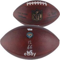 Jacksonville Jaguars Game-Used Football vs. Buffalo Bills on November 25, 2018