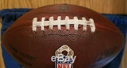 Jacksonville Jaguars Vs Buffalo Bills #12 Game Used Football 11-27-2016