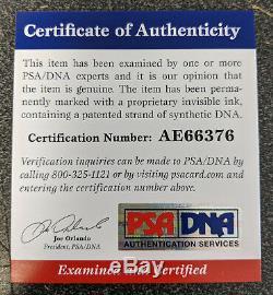Jim Kelly Signed Authentic Buffalo Bills Football Helmet 5 inscriptions PSA