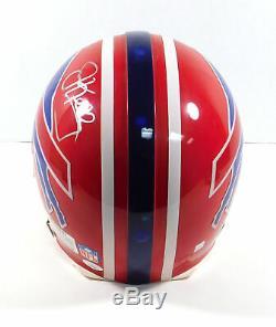 Jim Kelly Signed Full Size Buffalo Bills Football Helmet JSA Auto