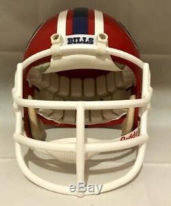 Jim Kelly VINTAGE RIDDELL WD-1 Buffalo Bills FOOTBALL HELMET Size Large