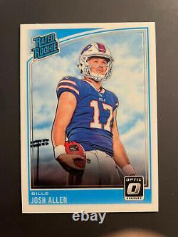 Josh Allen 2018 Donruss Optic Rated Rookie Card #154 RC Buffalo Bills NRMT/MINT