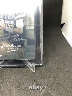 Josh Allen 2018 Luminance RC Silver Autograph Rookie Auto Buffalo Bills