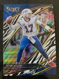 Josh Allen 2019 Panini Select Field Level Prizm Case Hit SSP Rare Card #262