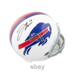 Josh Allen Autographed Buffalo Bills Full-Size Football Helmet JSA COA