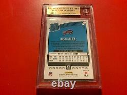 Josh Allen Buffalo Bills 2018 Donruss Optic HOLO Rookie Card BGS 9.5 Gem Mint