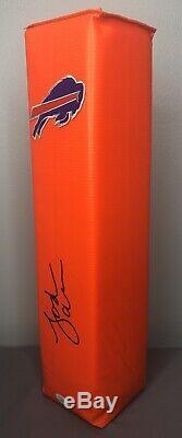 Josh Allen SIGNED Buffalo Bills Football Pylon with JSA COA