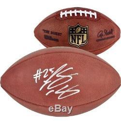 LESEAN MCCOY Autographed Authentic NFL Game Duke Football Eagles Bills FANATICS
